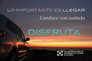vacaciones, semana santa, alicante, colegio, seguros, profesional, distrutar, conducir