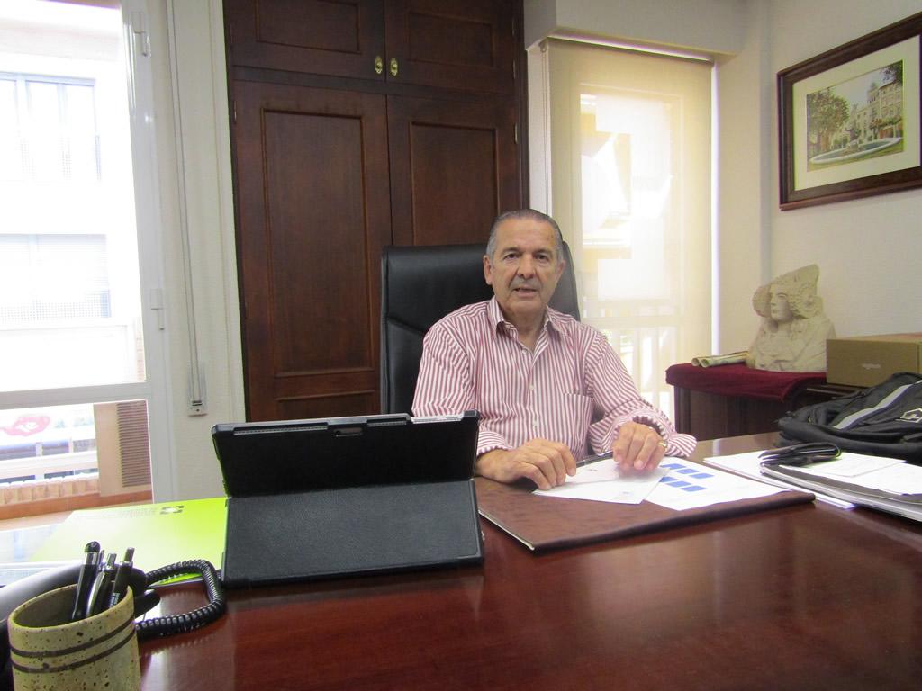 Eusebio Climent en la Asamblea del Colegio 2017