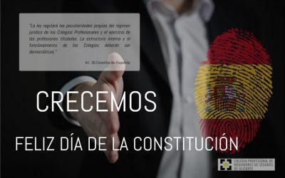 FELIZ DÍA DE LA CONSTITUCIÓN