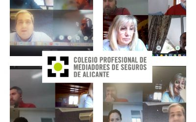 El Colegio celebra su junta Directiva por video conferencia