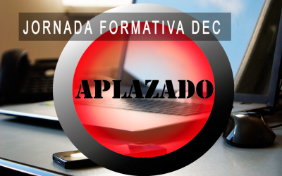 Aplazada Jornada Formativa DEC