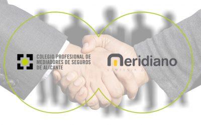 Meridiano Seguros y el Colegio de Alicante: sumar para crecer