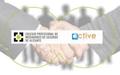 ACTIVE Seguros y el Colegio: una colaboración de presente y futuro
