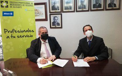Allianz Seguros y el Colegio de Alicante suman sinergias