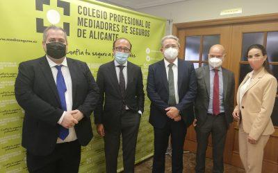 REALE Seguros estrecha su colaboración con el Colegio de Alicante