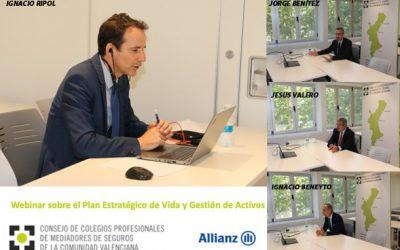 Allianz presenta a los colegiados valencianos su Plan Estratégico de Vida y Gestión de Activos